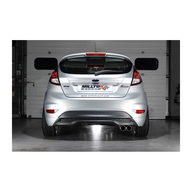 milltek ford fiesta 1 0t ecoboost 100 125 140ch street motorsport. Black Bedroom Furniture Sets. Home Design Ideas
