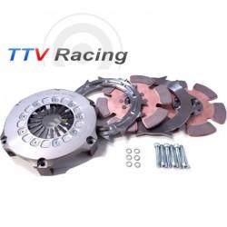 Kit embrayage 555N/m Compétition TTV Racing 184mm Bi-disque