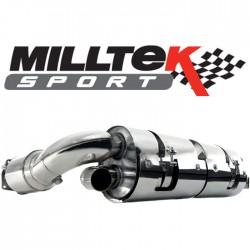 Milltek A4 1.8T B7 2WD Saloon 163CV Cabriolet (5 Vitesses)