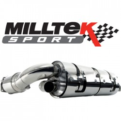 Milltek A5 Sportback 2.0 TFSI 2WD et Quattro-Boite Manu