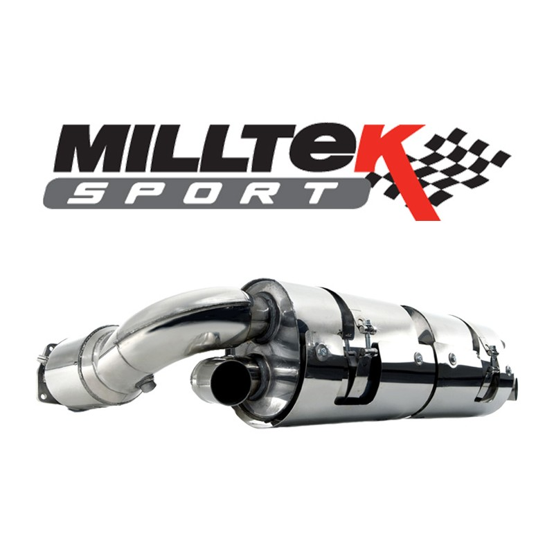 milltek renault clio 3 rs 200 et cup street motorsport. Black Bedroom Furniture Sets. Home Design Ideas