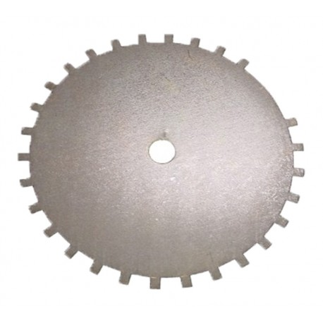 Roue phonique 30-2 dents diamètre 150 mm SYBELE