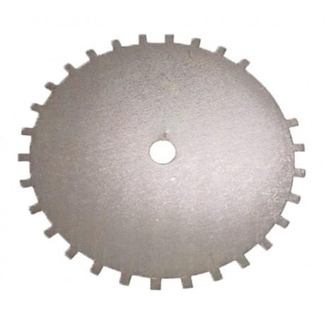 Roue phonique 30-2 dents diamètre 125 mm SYBELE