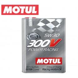 Motul 300V POWER RACING 5W30 Huile Moteur 100% Synthèse | Bidon 2L