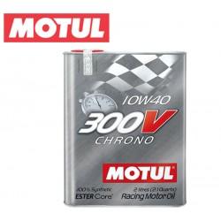 Motul 300V CHRONO 10W40 Huile Moteur 100% Synthèse | Bidon 2L