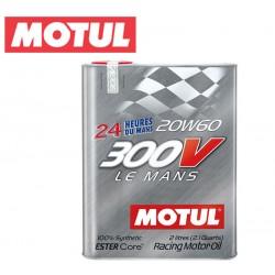 Motul 300V LE MANS 20W60 Huile Moteur 100% Synthèse | Bidon 2L