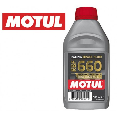 MOTUL RBF 660 Liquide de frein 0,50L | Non Miscible