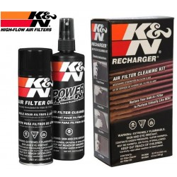 Kit de nettoyage et d'entretien pour filtre K&N