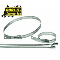 Colliers pour fixation isolant ruban/bande thermique